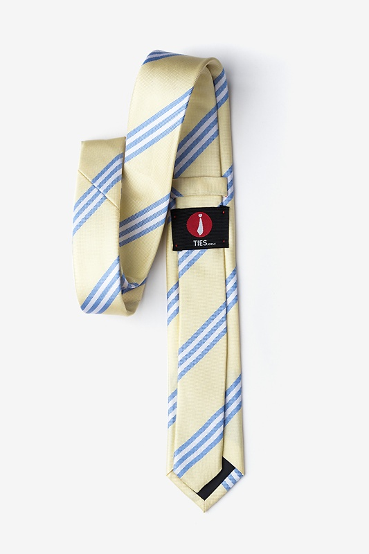 Pioneer Yellow Skinny Tie Photo (1)