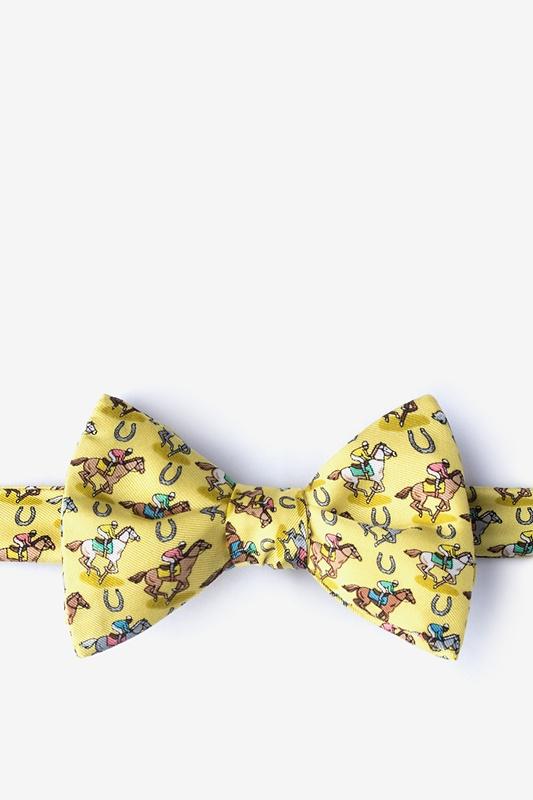 Pony Up Self-Tie Bow Tie Photo (0)