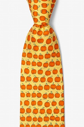 Pumpkin Patch Yellow Tie