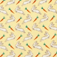 Rabbits & Carrots Tie by Alynn Novelty