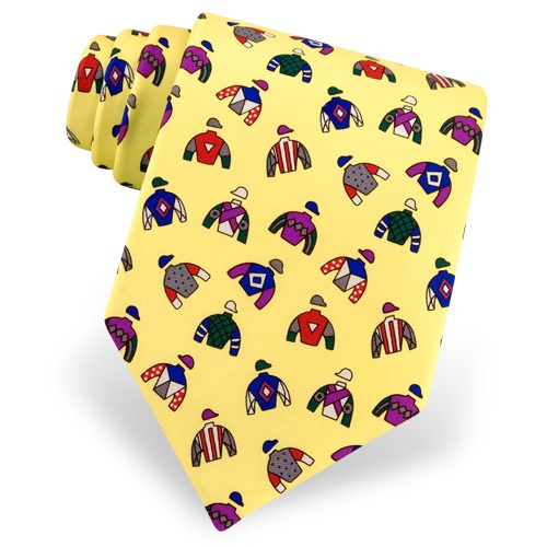 Racing Colors Tie by Alynn Novelty