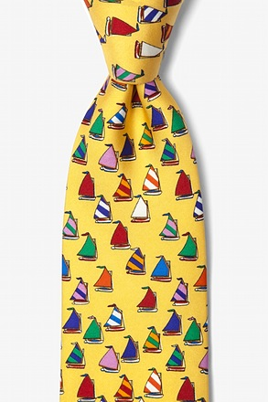 Rainbow Fleet Yellow Tie