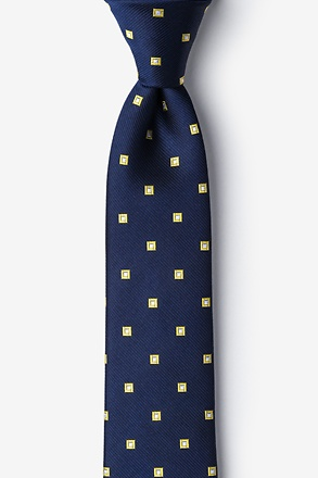 _Sable Yellow Skinny Tie_