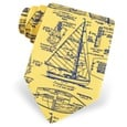 Sail Plans Tie by Alynn Novelty