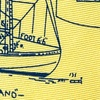 Yellow Silk Sail Plans Tie
