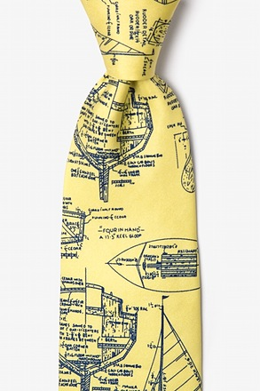Sail Plans Yellow Tie