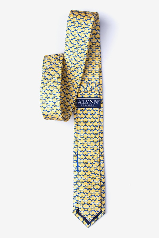 Scales Of Justice Skinny Tie Photo (1)