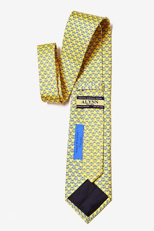 Scales Of Justice Tie Photo (2)