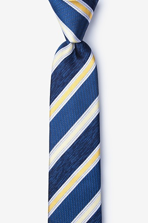 _Shannon Yellow Skinny Tie_