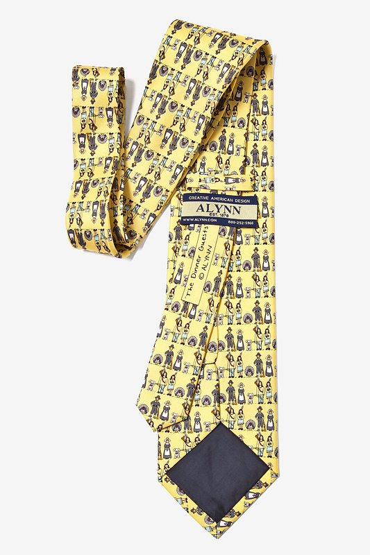 Thanksgiving Yellow Tie Photo (3)