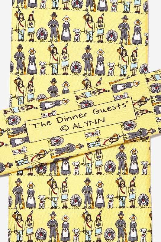 Thanksgiving Yellow Tie Photo (5)