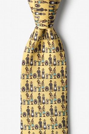Thanksgiving Yellow Tie