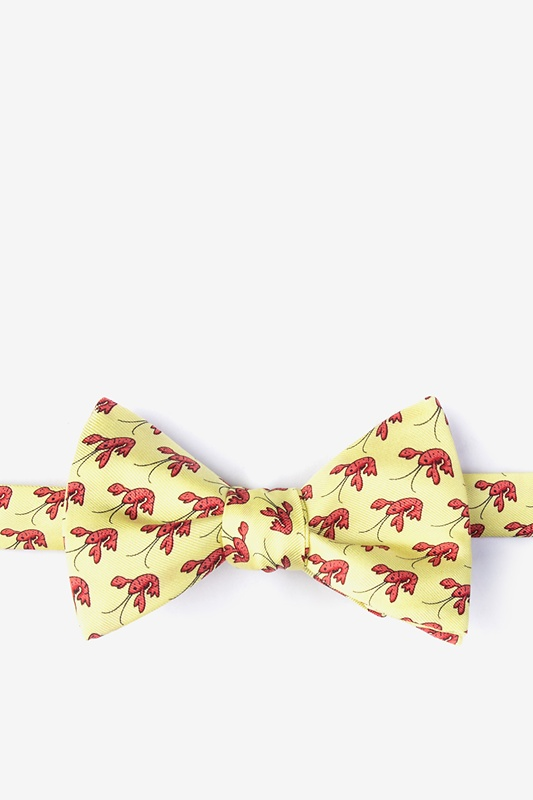 That Fish Cray Bow Tie