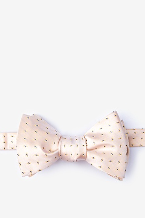 Trinity Yellow Self-Tie Bow Tie