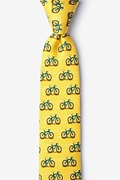 Yellow Silk Two Tire-d