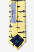 U.S. Battleships Skinny Tie Photo (2)