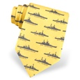 U.S. Battleships Tie by Alynn Novelty