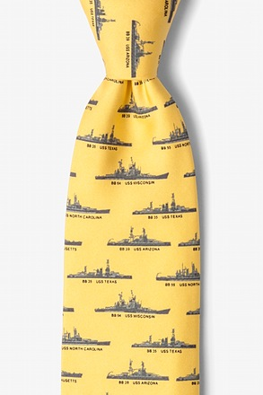 _U.S. Battleships Yellow Tie_