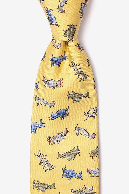 WWII Fighter Planes Tie Photo (0)