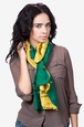 Yellow Viscose Ariel Scarf
