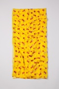 Cherry Picking Yellow Scarf by Scarves.com